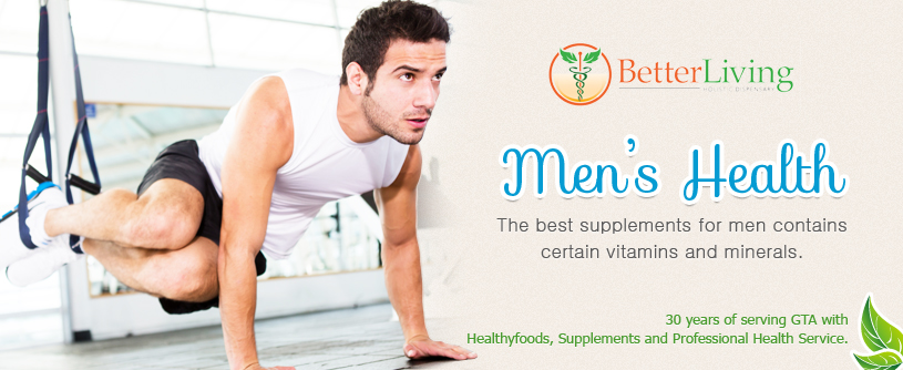 Try the best supplements for men available only at our shop in Toronto.