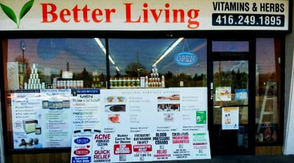 Natural Health Food Store Toronto for Herbal Supplements ...