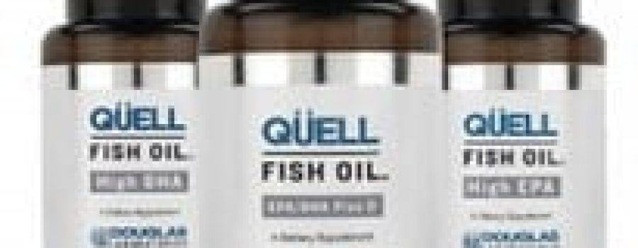 Now Introducing QUELL Fish Oil's to Better Living