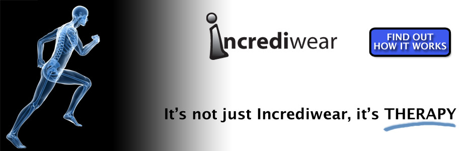 Incrediwear -It's Not Just a Sock or a Brace, it's Therapy!