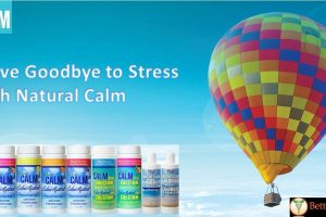 Wave Goodbye to Stress with Natural Calm!