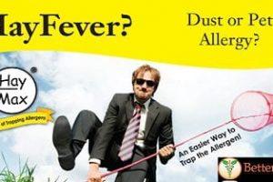 Stop Seasonal Allergies with HayMax – Less Allergen, Less Sneeze