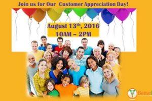 Better Living Customer Appreciation Day!