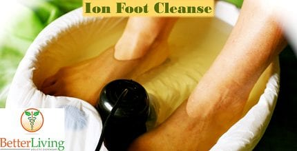 Ion Cleanse Premium Detox Foot Bath