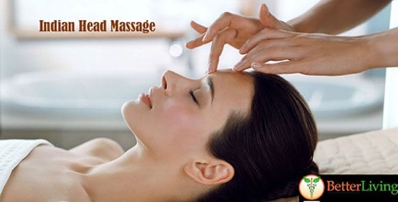 Indian Head Massage available at Better Living in Toronto
