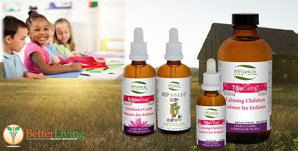 "Back to School with St. Francis ""Just for Kids"" Herbal Formulas"