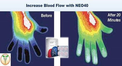 Increase Nitric Oxide Levels and Circulation with Neo40 Daily
