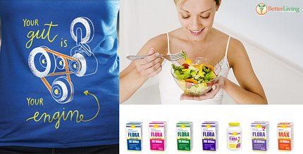 Healthy Gut Flora with Renew Life Probiotics