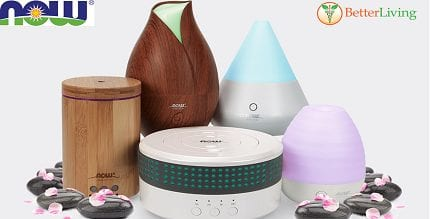 Enjoy the Benefits of Essential Oils with NOW Ultrasonic Diffusers