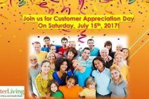 Customer Appreciation Day July 15th