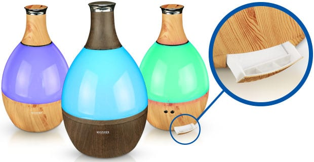 relieve dry winter air with a humidifier