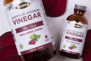 Flora's Apple Cider Vinegar Wellness Shots & Tonics